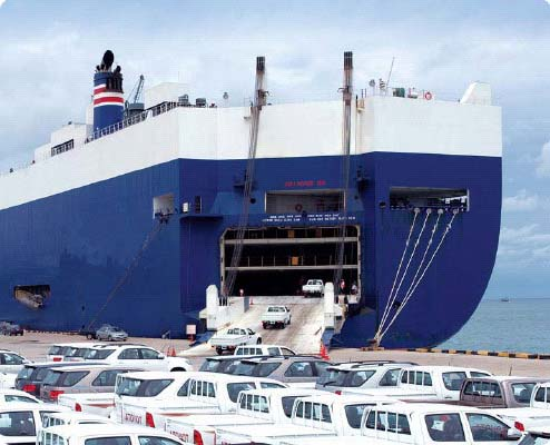 Shipping Cars on Enclosed Ship