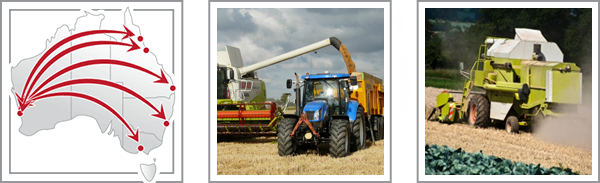 farm machinery transportation