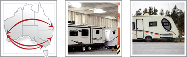 RV Caravan Transport